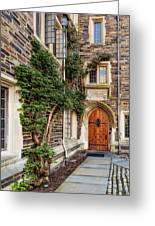 Princeton University Foulke Hall II Greeting Card