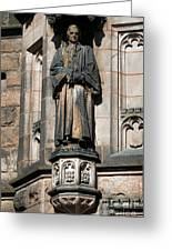 Princeton University J Witherspoon Statue  Greeting Card
