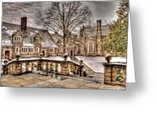 Snow / Winter Princeton University Greeting Card