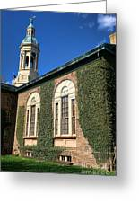 Princeton University Nassau Hall Cupola Greeting Card