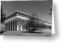 Princeton University Robertson Hall Greeting Card