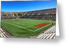 Princeton University Stadium Powers Field Greeting Card
