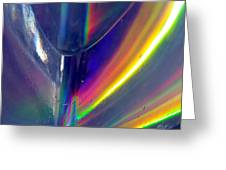 Prism Waves I Greeting Card