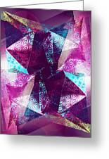 Prismatic Vision - Darker Version Greeting Card