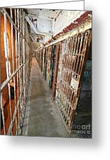 Prison Cells Greeting Card