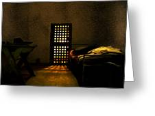 Prison Greeting Card