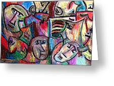 Prisoners By Rafi Talby Greeting Card