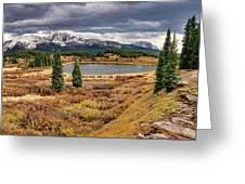 Pristine Mountain Lake Greeting Card