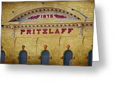 Pritzlaff Greeting Card