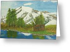 Private Cabin Greeting Card