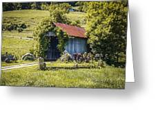 Private Covered Bridge Greeting Card