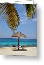 Private Palapa Greeting Card