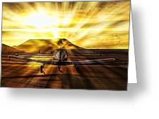 Private Pilot Heaven Greeting Card