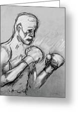 Prizefighter Greeting Card