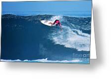 Pro Surfer Alex Ribeiro-6 Greeting Card