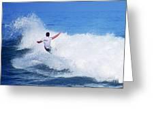 Pro Surfer Gabe King - 4 Greeting Card