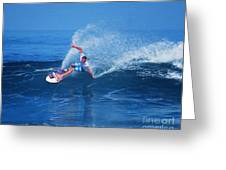 Pro Surfer Jamie O Brien #1 Greeting Card