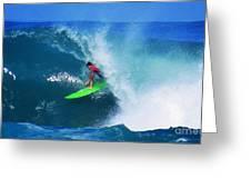 Pro Surfer Keanu Asing-2 Greeting Card