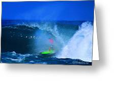 Pro Surfer Keanu Asing-3 Greeting Card