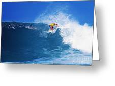 Pro Surfer Nathan Hedge-1 Greeting Card
