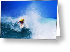 Pro Surfer-nathan Hedge-4 Greeting Card