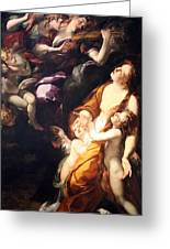 Procaccini's The Ecstasy Of The Magdalen Greeting Card