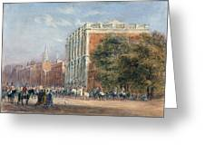 procession with Queen Victoria Greeting Card