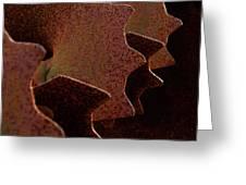 Profiles Greeting Card