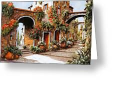 Profumi Di Paese Greeting Card by Guido Borelli