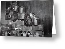 Prohibition Confiscated Stills  1920's Greeting Card