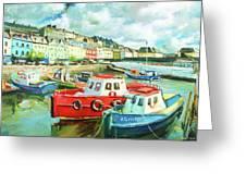 Promenade At Cobh Greeting Card