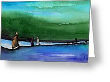 Promenade Greeting Card