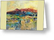 Promise Of Gold Greeting Card
