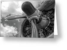 Prop Engine Greeting Card