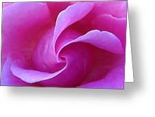 Propeller Of Rose Greeting Card