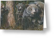 Protective Mother Greeting Card