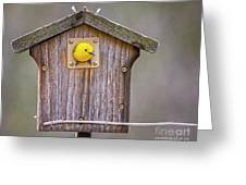 Prothonotary Warbler House Greeting Card