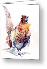 Proud Pheasant  Greeting Card