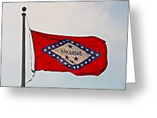 Proud To Be An Arkansan- Fine Art Greeting Card