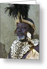 Proud Zulu Greeting Card
