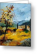 Provence 45 Greeting Card by Pol Ledent