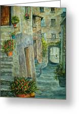 Provence Alley Greeting Card