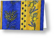 Provence Colors Greeting Card