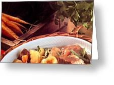 Provence Kitchen Stew Greeting Card