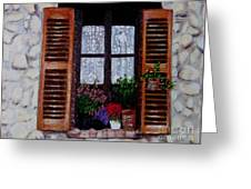 Provence Morning Greeting Card