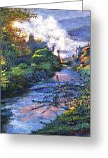 Provence River Greeting Card