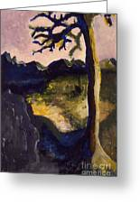 Provence Tree Greeting Card