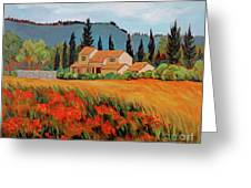Provence Villa Greeting Card
