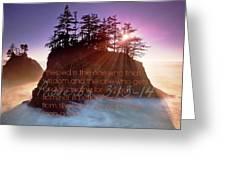 Proverbs102 Greeting Card