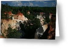 Providence Canyon Greeting Card